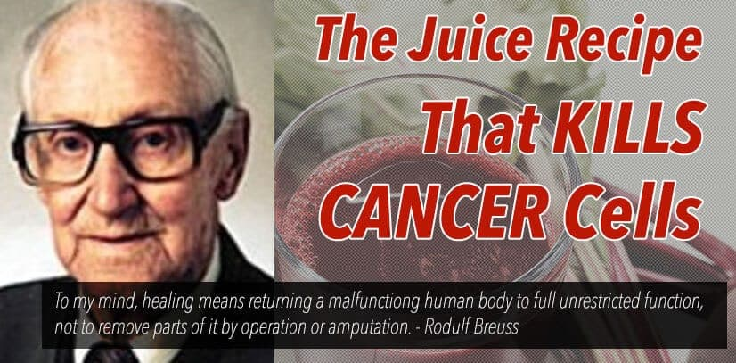 Juice Recipe For Cancer