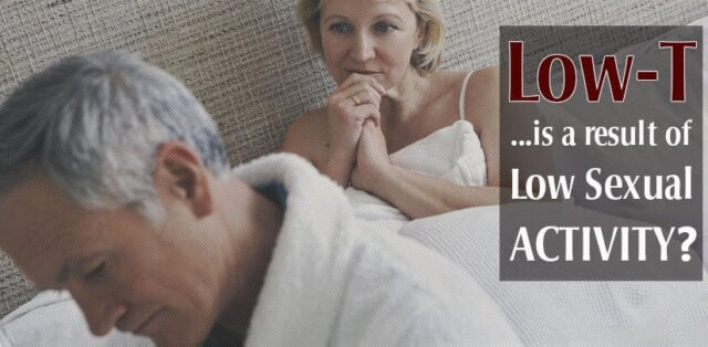 Less Sex Cause Low Testosterone In Men
