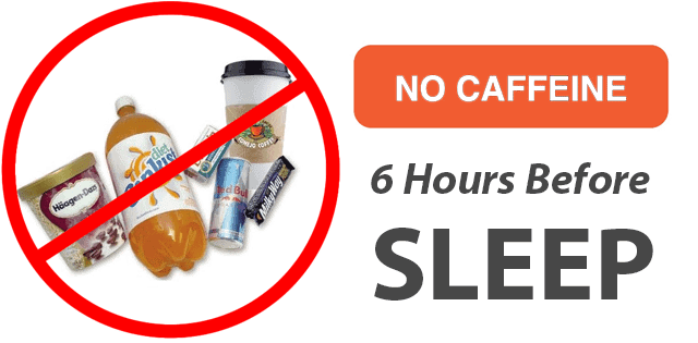 Avoid Caffeine Before Sleep