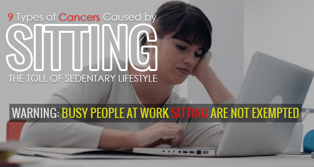 Sitting and Cancers