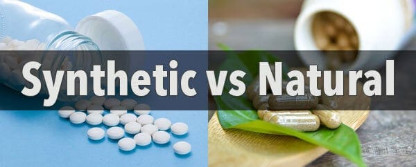 Synthetic vs Natural Supplements