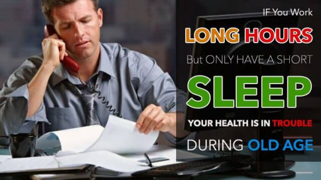 Working and Sleeping Less